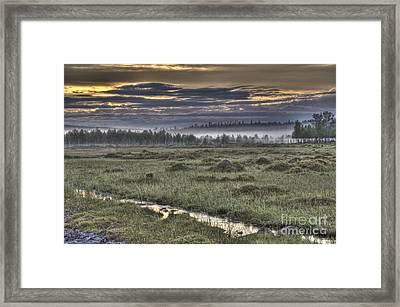Finnish Moorland Framed Print