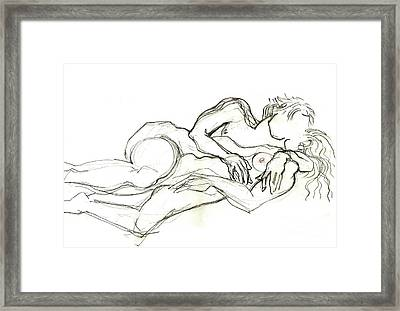 Finny And O Framed Print