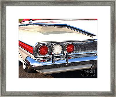 Fins Were In - 1960 Chevrolet Framed Print
