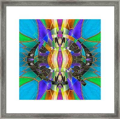 Finus Framed Print