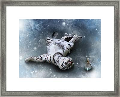 Fiona Floyd And The Freeze Framed Print by Julie L Hoddinott