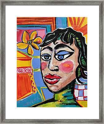 Fiona - Vivid Vixen 6 Framed Print