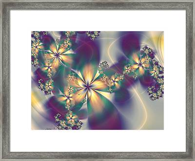 Fior Pathways Framed Print by Lauren Goia