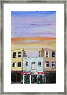 Fiorella's Framed Print by Tom Hefko