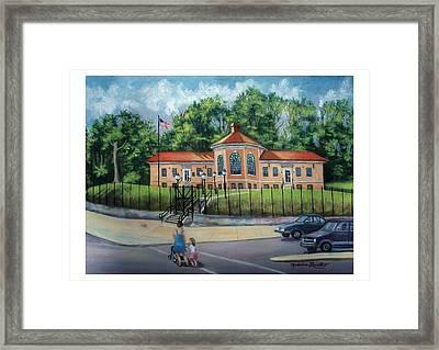 Fire Alarm Telegraph Station F.d.n.y. Building Framed Print