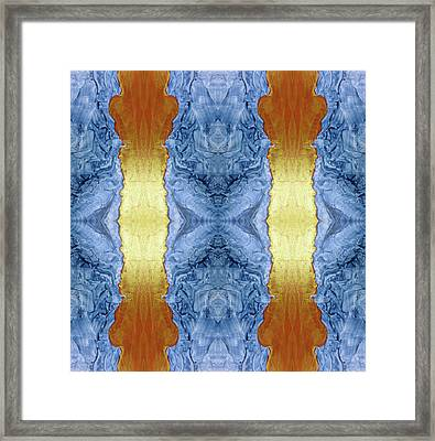Fire And Ice - Digital 1 Framed Print by Otto Rapp