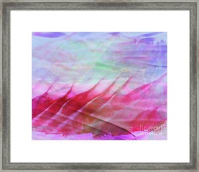 Fire And Ice Framed Print by Judi Bagwell