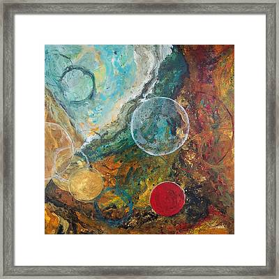 Fire And Ice Framed Print by Laura Swink
