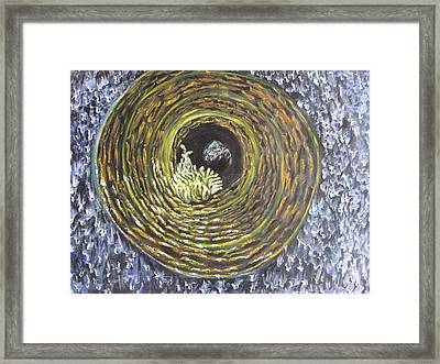 Fire And Ice Framed Print by Sujata Tibrewala