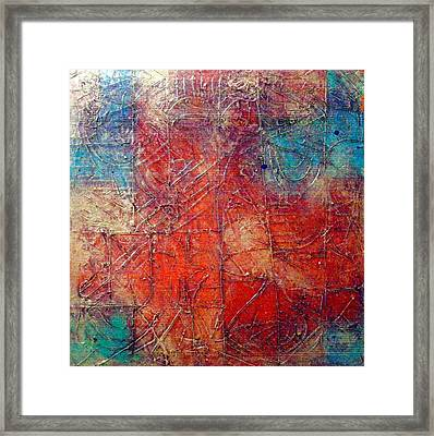 Fire And Water Framed Print by Bernard Goodman