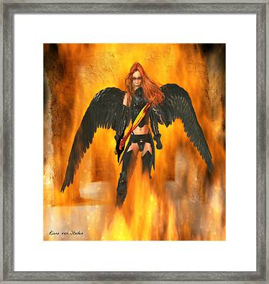 Fire Angel  Framed Print