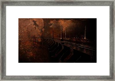 Fire At Diablo Framed Print by Jeff Burgess