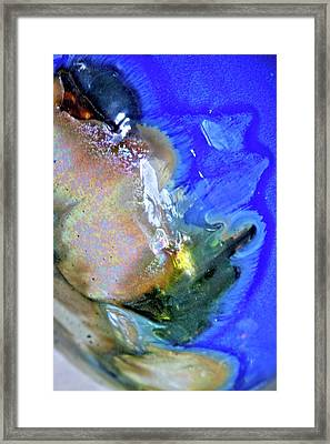 Fire At The Balustrade  Framed Print