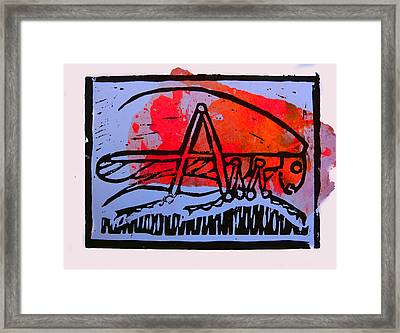 Fire Cricket Framed Print by Adam Kissel