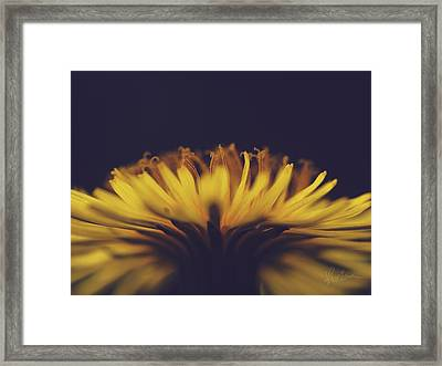 Fire Dance Framed Print
