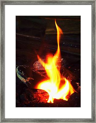 Fire-dance No. 01 Framed Print by Ramon Labusch
