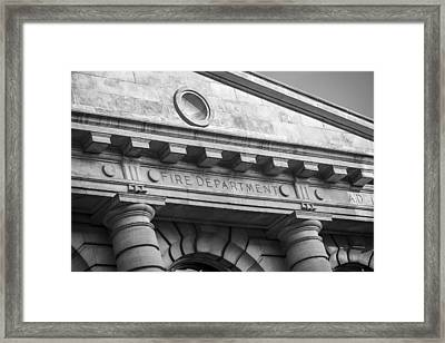 Fire Department Headquarters Framed Print by Steven Bateson