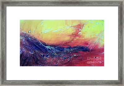 Fire Dragon Framed Print by David Ackerson