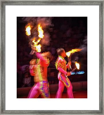 Fire Eaters Framed Print