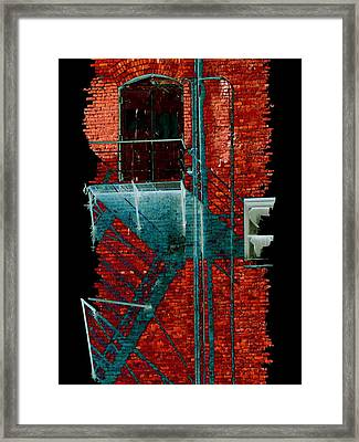 Fire Escape 7 Framed Print by Tim Allen