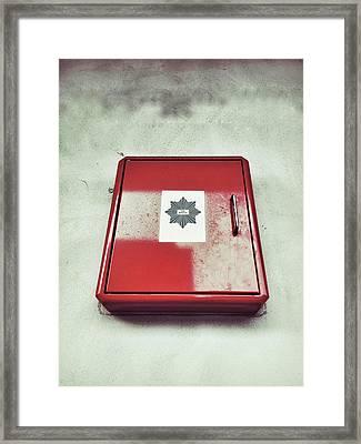 Fire Fighting Equipment Framed Print by Tom Gowanlock