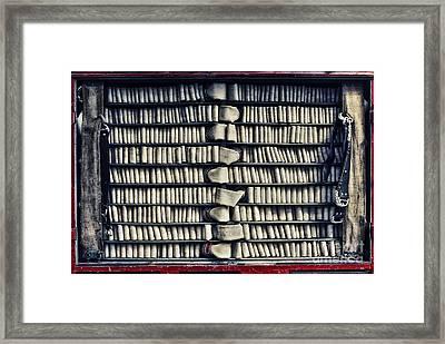 Fire Hose Framed Print by Jutta Maria Pusl