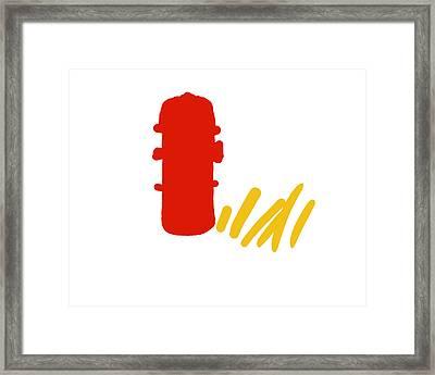 Fire Hydrant Framed Print by David Bridburg