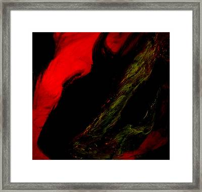 Fire I Framed Print