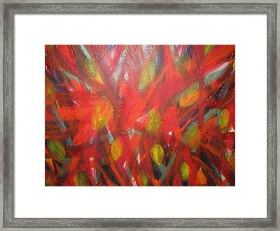 Fire In The Belly Framed Print