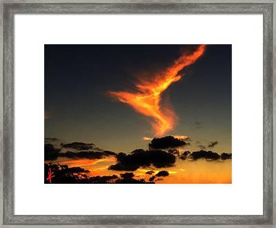 Early Evening Over Paros Island Framed Print by Colette V Hera  Guggenheim