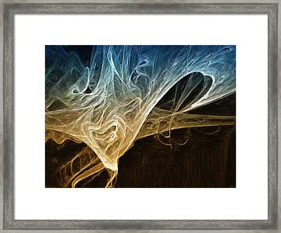 Fire In The Soul Framed Print by Mark Denham