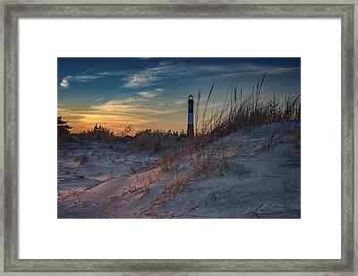 Fire Island Dunes Framed Print by Rick Berk