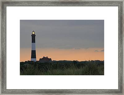 Fire Island Light Framed Print