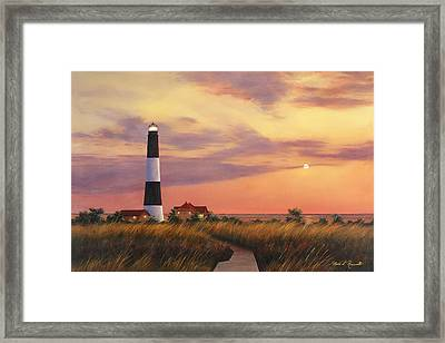 Fire Island Lighthouse Framed Print