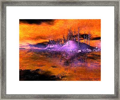 Fire Island Framed Print