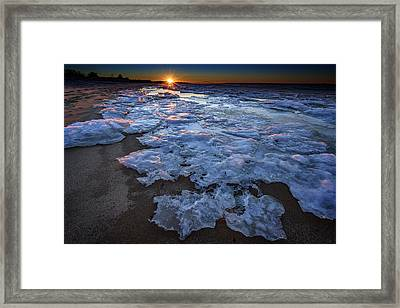 Fire Island Winter Framed Print by Rick Berk