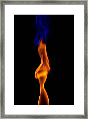 Fire Lady Framed Print by Gert Lavsen