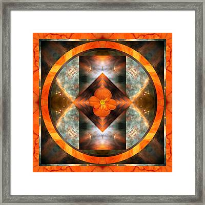 Fire Light Framed Print by Bell And Todd