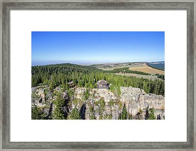 Fire Lookout View Framed Print by Jess Kraft
