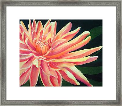 Fire Mum Framed Print by Lucinda  Hansen