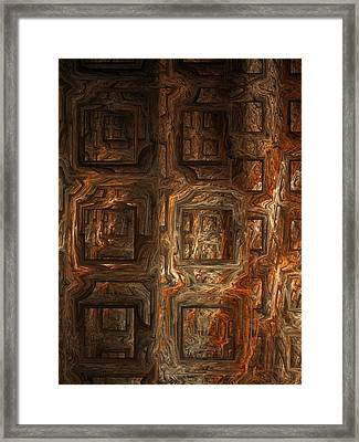 Fire Of London Framed Print by Ian Duncan Anderson