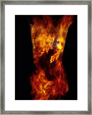 Fire One  Framed Print by Arla Patch