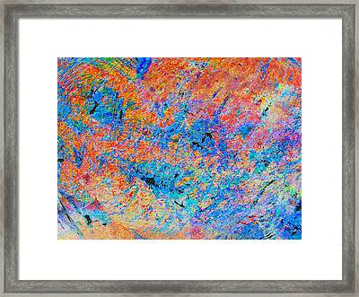 Fire Opal Framed Print by Stephanie Grant