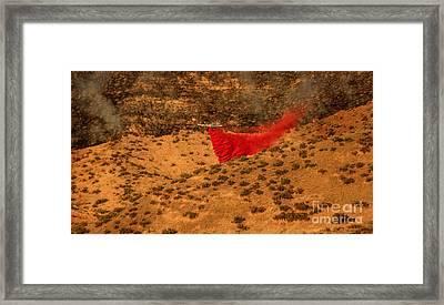 Fire Retardant Framed Print by Robert Bales