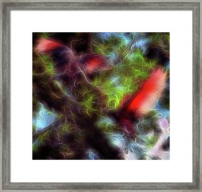 Fire Spirits 5 Framed Print by William Horden