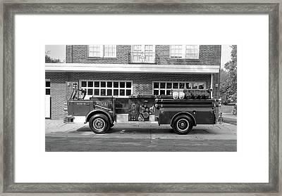 Fire Truck Framed Print