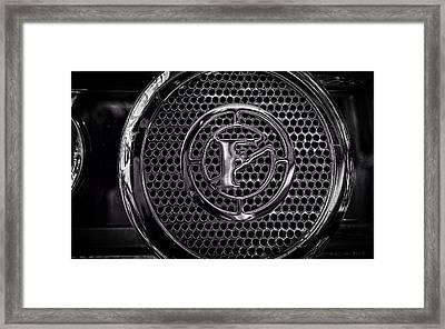 Fire Truck Siren Framed Print