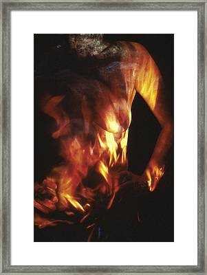 Fire Two Framed Print by Arla Patch