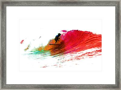Fire Water Framed Print by David Coyle
