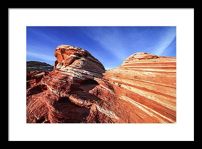 Valley Of Fire State Park Framed Prints